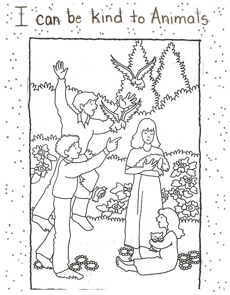 92 Best Images About Lds Sunbeam Lessons On Pinterest Lds Sunbeam Coloring Pages