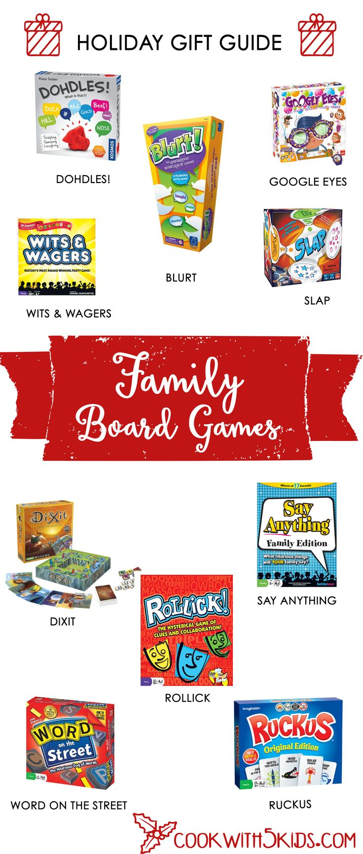 Our favorite way to bond as a family is to play board games.  Our board game collection totals more than 200, many of them old childhood favorites. Board games are such a great way to bond with your tweens and teens.  We always start laughing while playing a board game (occasionally crying from so …