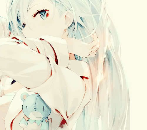 An Anime Character That Looks Like Me : Anime girl with white hair reminds me of a character in