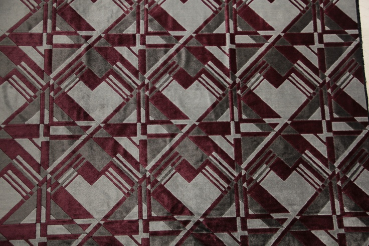 1000 images about art deco fabric on pinterest for Art deco style fabric
