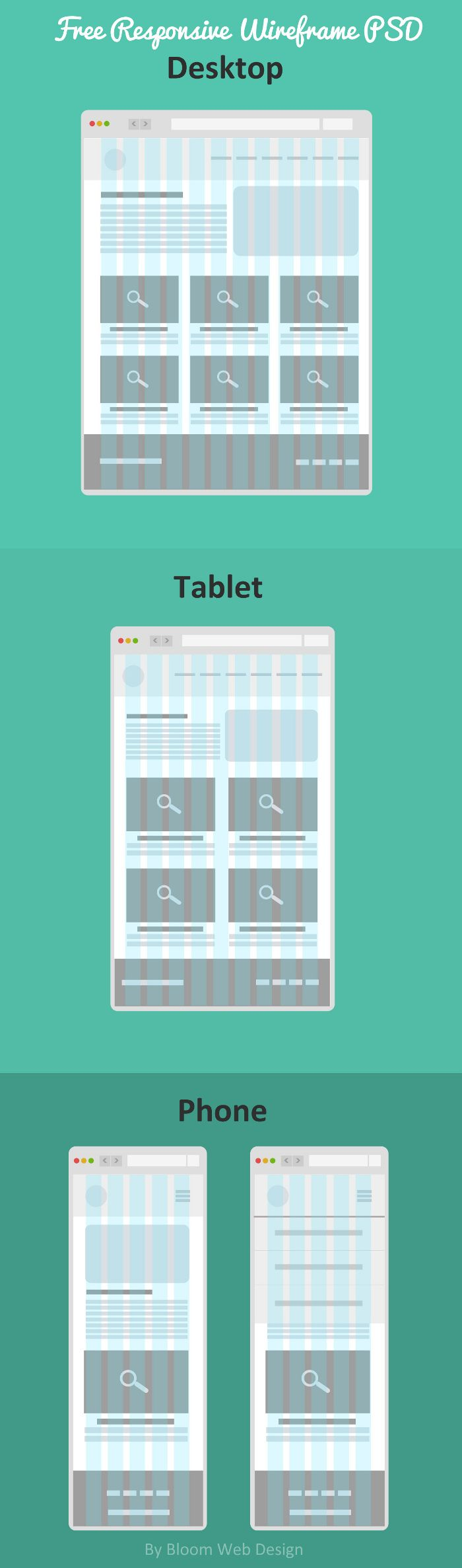 free-flat-responsive-wireframe