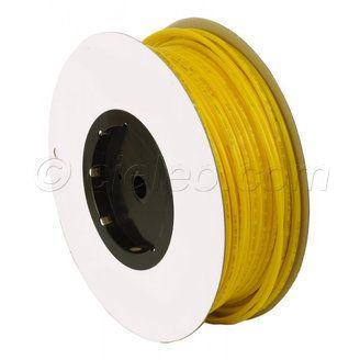 """Tuyau souple jaune 1/4"""" pour osmoseur et filtre à eau. Vendu au mètre, le tubing s'utilise avec des connecteurs rapides, pour un montage simple sans outil. A découvrir sur http://www.cieleo.com/s/39097_254934_tubing-1-4-jaune-osmoseur"""