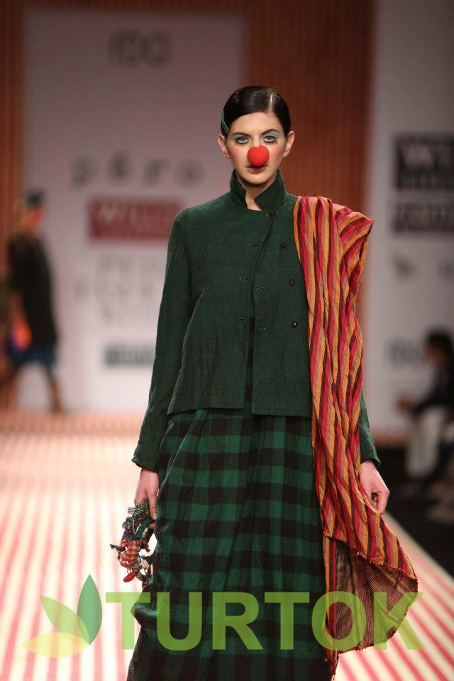 WIFW-2013, Day 4 -  Pero by Aneeth Arora. Join us at www.turtok.com/