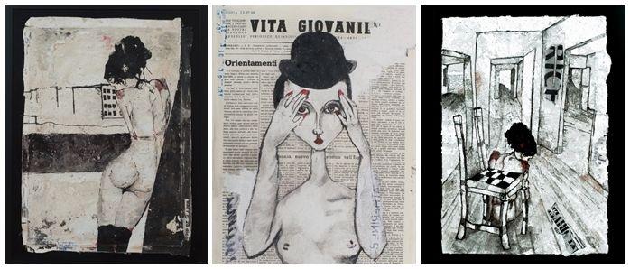 Gallerie del Chiostro del Bramante | Monica Marioni. Rebus  dal 18/01/2013 al 16/02/2013    Un viaggio nell'inconscio, un affresco della psicologia del profondo.