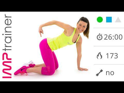 Allenamento Cardio + Esercizi Glutei per Dimagrire e Tonificare - YouTube