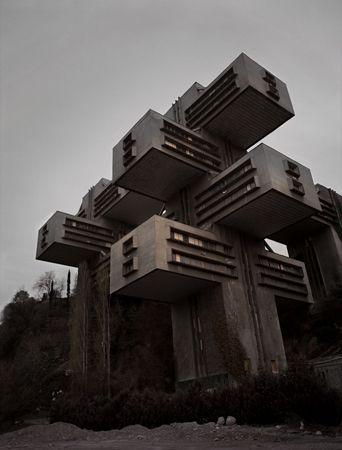 Les 25 meilleures id es de la cat gorie architecture de l for Meuble futuriste montreal