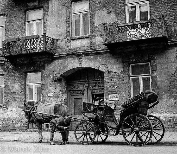 Warszawa Ulica Brzeska w latach 60.