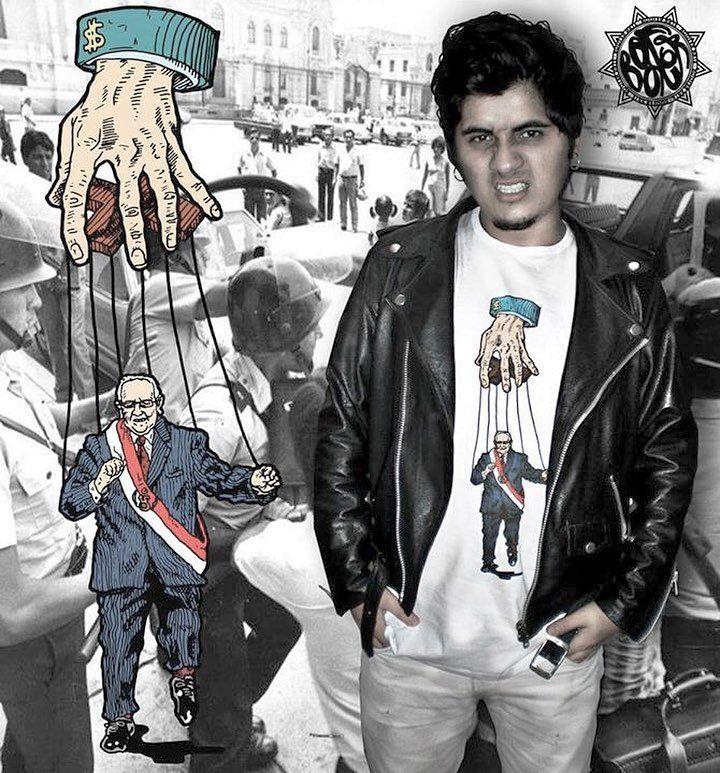 Y tú? Ya tienes tu polo #booferarte?? Atrápalo antes que se agoten!! #ppk #ppkrevisamicaso #followme #moda #tshirt #politics #presidente #latina #cultura #perú #peru #peruana #arte #títere #red #neoliberalism #instaperu #ilustracion #draw #art #igersperu  http://www.whambamtees.com/political-shirts/
