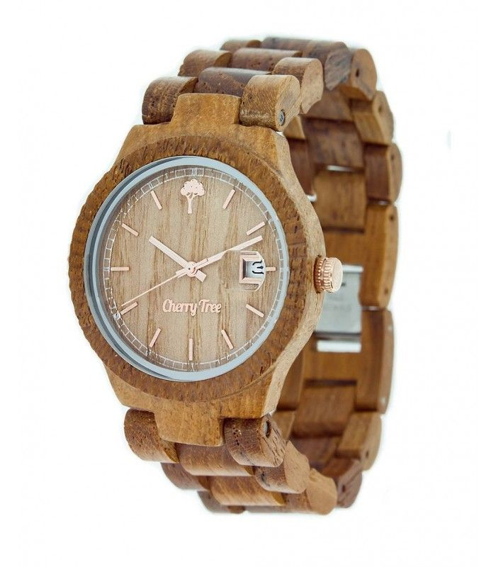 Pristine is the watch made from 100% natural Teak wood and is mounted inside the mechanism Miota Japan. Its color so special, is given by its naturalness