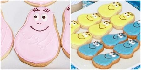 Barbapapa cookie