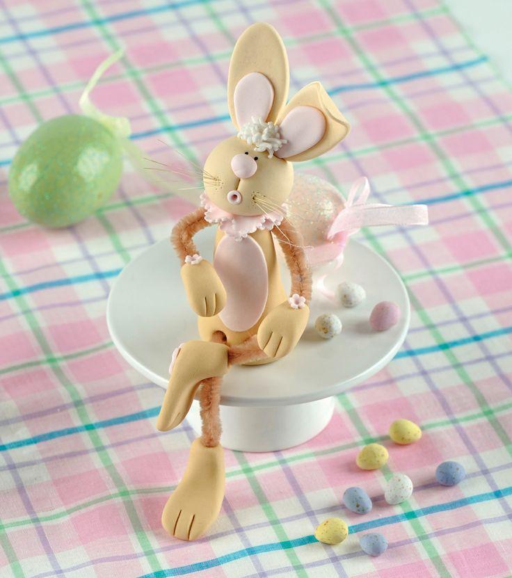 Bunny by Georgie Godbold. Taken from Twenty to Make: Sugar Wobblies. www.searchpress.com/book/9781844488322/sugar-wobblies