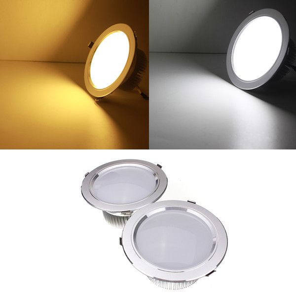 15W LED Ceiling Spotlight Recessed Lamp Dimmable 220V + Driver