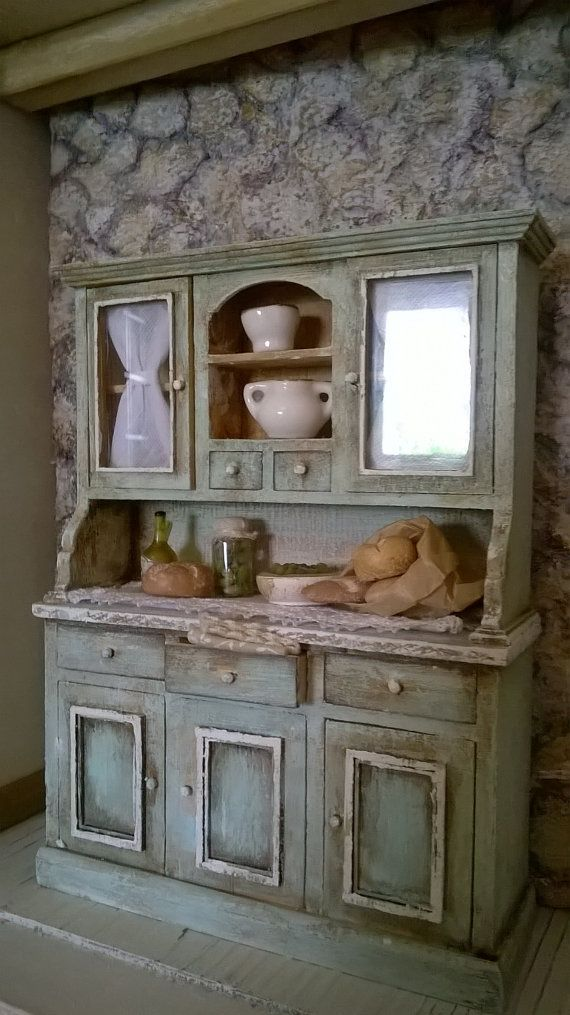 dollhouse kitchen cabinet sets miniature shelf unfinished furniture cabinets diy