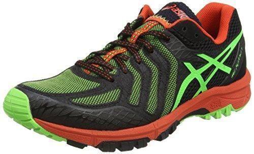 Oferta: 122€ Dto: -44%. Comprar Ofertas de ASICS - Gel-fujiattack 5, Zapatillas de Running Hombre, Verde (green Gecko/black/orange 8590), 45 EU barato. ¡Mira las ofertas!