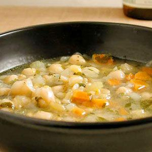 Although simple, this soup is big on flavor from the start, and it gets better as it sits. Substitute spelt, grano, or wheat berries for the kamut in this recipe.