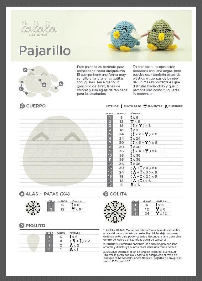 Petit oiseau - pajarillo
