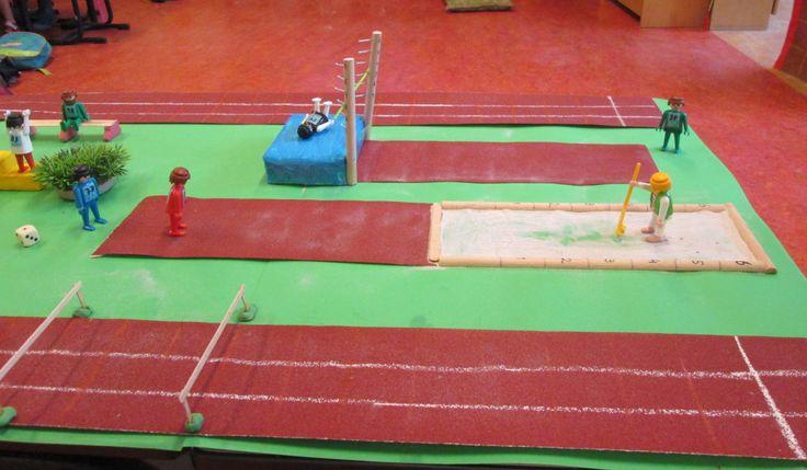 Atletiek speeltafel 04 Nutsschool Maastricht