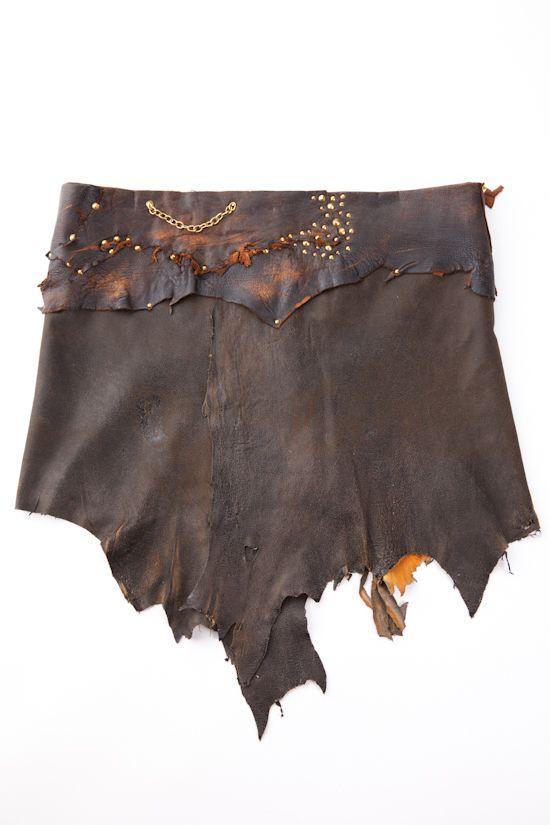 kala handmade leather skirt handmade with care and