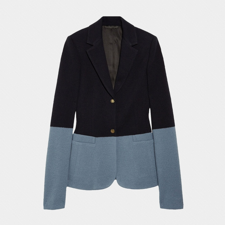 The Row Garton wool-blend jersey blazer - The Cut