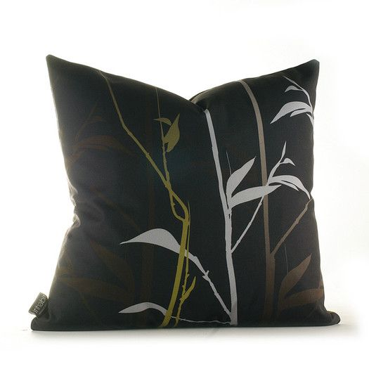 Inhabit Morning Glory Prairie Synthetic Throw Pillow | AllModern