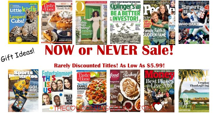 OOOHHHH!! Look at this! Discount Mags has an awesome sale on magazines that are rarely discounted! Get those hard to find mags now! Great gift ideas!  Click the link below to get all of the details ► http://www.thecouponingcouple.com/rarely-discounted-mags-sale/ #Coupons #Couponing #CouponCommunity  Visit us at http://www.thecouponingcouple.com for more great posts!