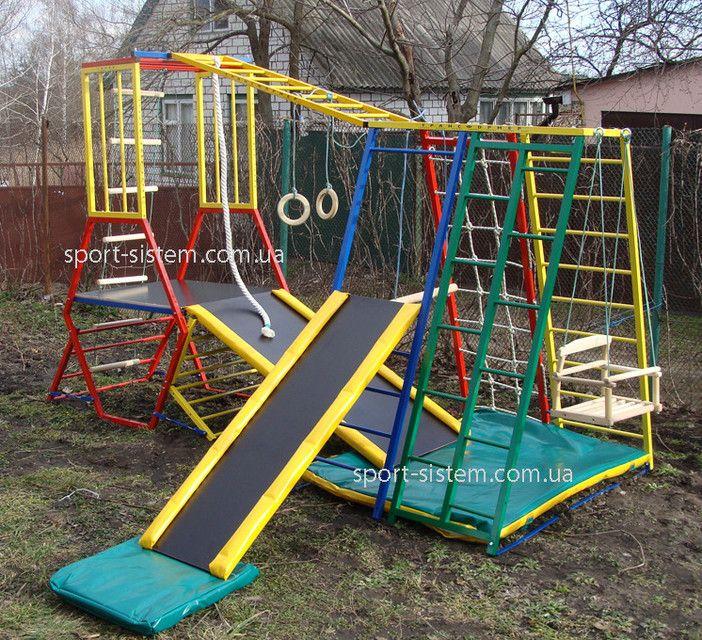 Детский игровой комплекс для игр на улице Лабиринт-3, фото 3