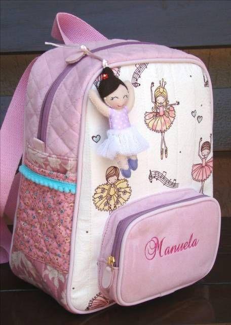 c41611ffc Mochila Infantil Feminina - 69 Modelos Lindos e Fofos Para as Crianças! |  Bolsos y carteras | Kids backpacks, Bags e Kids bags