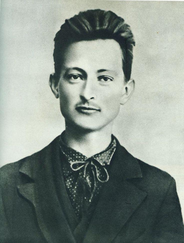 young felix dzerzhinsky and his pubestache, date unknown.