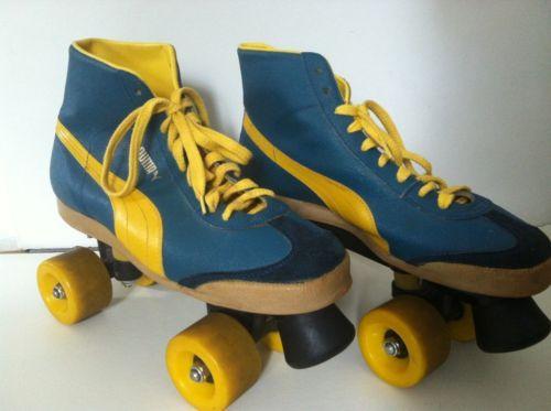 Rollschuhe – Disco-Roller....genau so sahen meine aus!