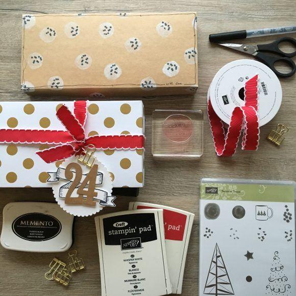 box weihnachten verpackung selbst gestalten stampin 39 up jenni pauli ideen a la pauline. Black Bedroom Furniture Sets. Home Design Ideas