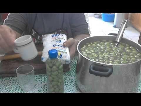 Φτιαξτε ευκολα και χωρις κοπο βρωσιμες ελιες - YouTube