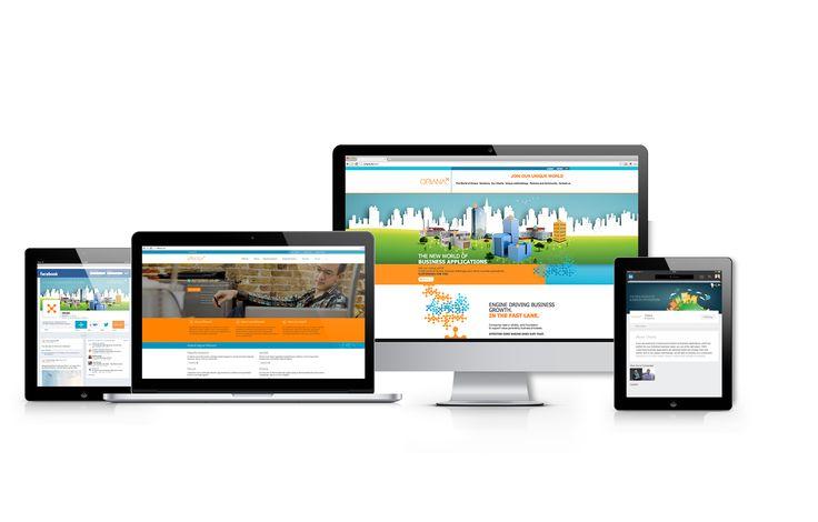 Oriana - Social, website