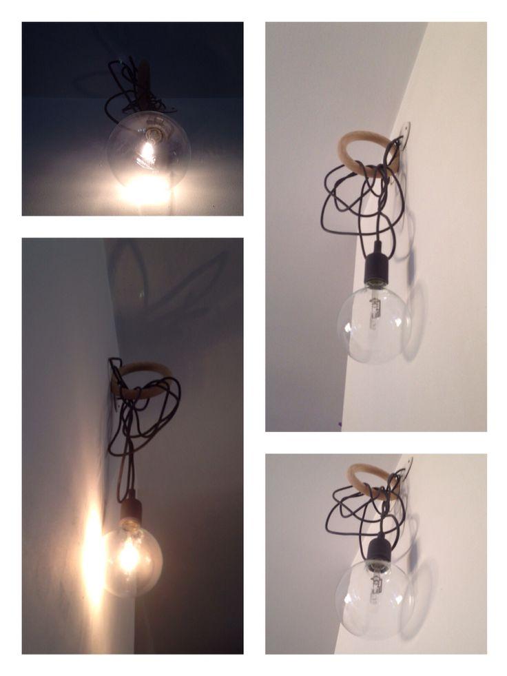 Gym hook Hay + E27 lamp Muuto