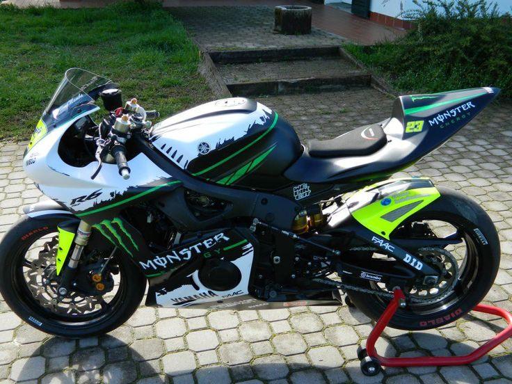 Yamaha R6 Monster Energy « Samuxx Design
