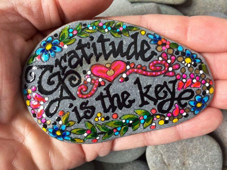 how to make gratitude rocks