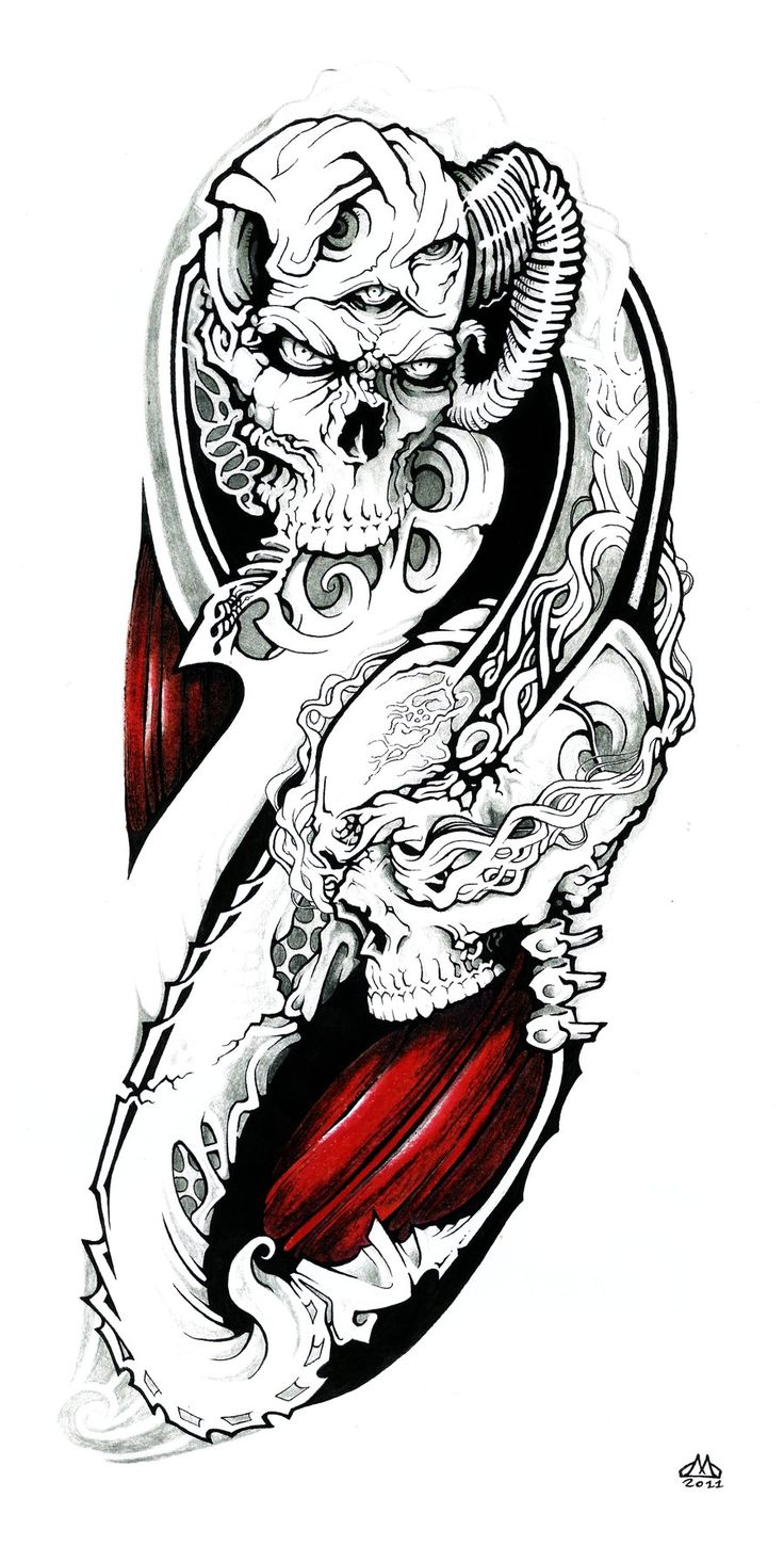 I love tattoos. When I'm older I would really like to run a tattoo parlor and I really want to have my own tattoos