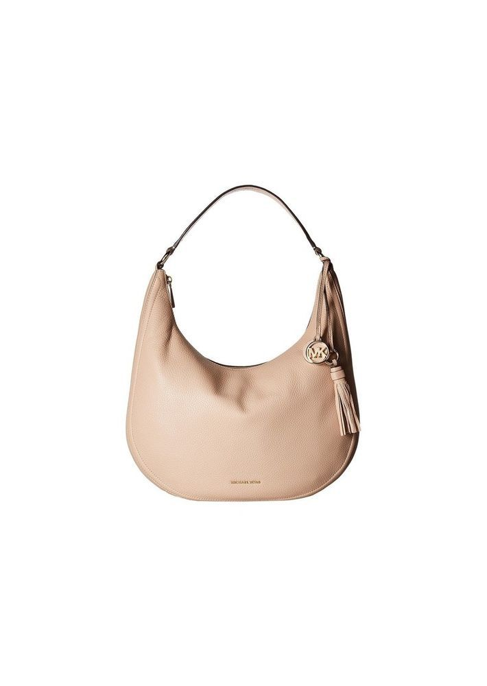 07e901130584 MICHAEL Michael Kors Women s Large Lydia Hobo Bag Oyster ret   295   MICHAELMichaelKors