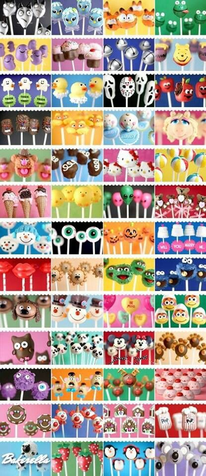 Cake pops everywhere! Omg need to try these!!