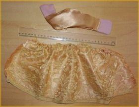 Poppenkastpoppen - De gouden kanten jurk voor de prinses - Stap voor stap