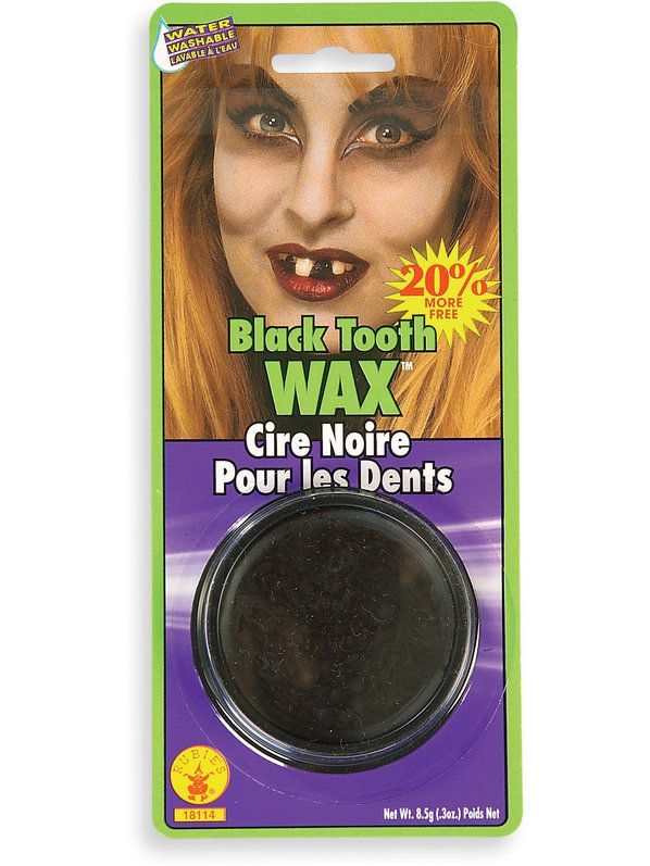 Assorted Colours Tooth Paint Halloween Costume Fancy Dress Outfit