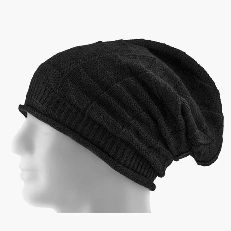 Long Beanie Mütze XXL Damen Herren Kinder Winter Mützen - black in Bekleidung Accessoire  • Mützen Beanie
