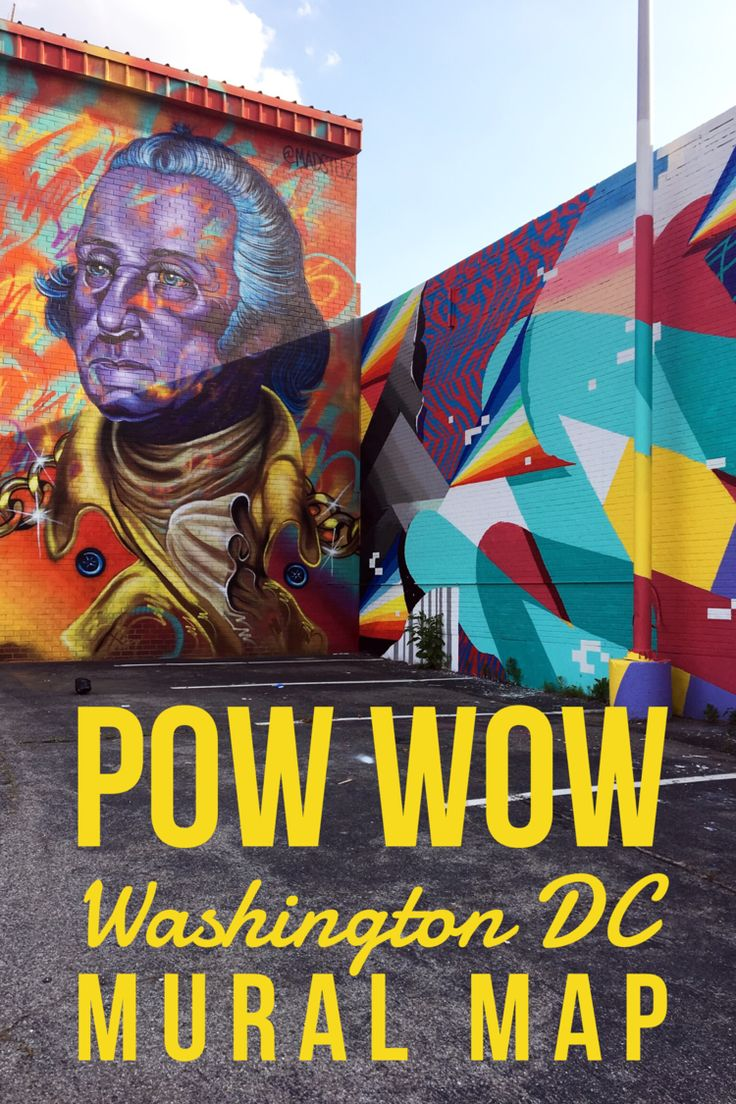 POW! WOW! DC Mural Map | Washington, DC | Things to Do in Washington, DC | Washington, DC Art | Washington, DC Street Art | Noma District