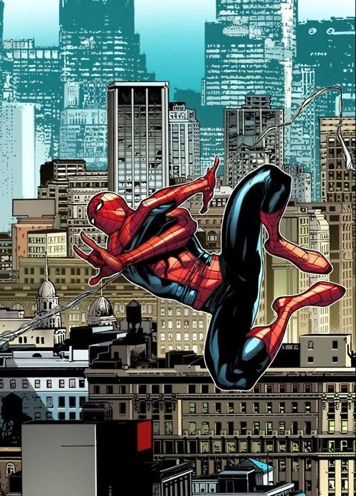 Spider-Man in pursuit