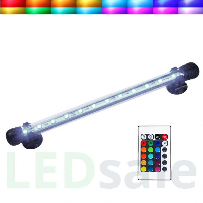 Waterproof LED Aquarium Tube - RGB