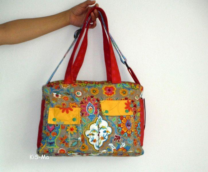 Schultertasche Wickeltasche Inka von Taschen by KiS-Ma auf DaWanda.com