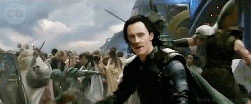 Tom Hiddleston — Loki in Thor: Ragnarok trailer's 'New World'