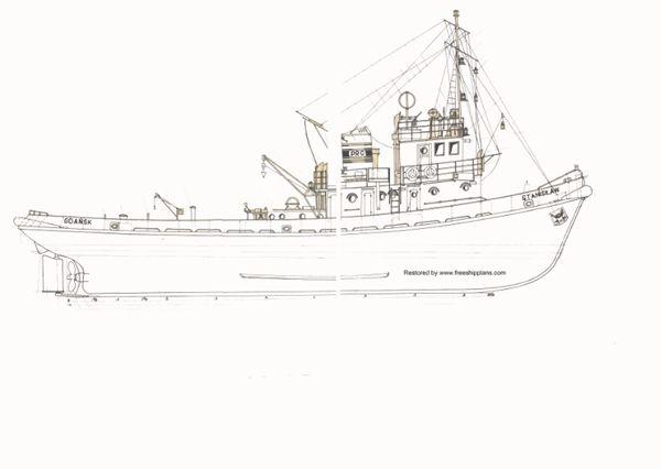 hobby stanislaw model tug plans maritime ship in 2019 ...