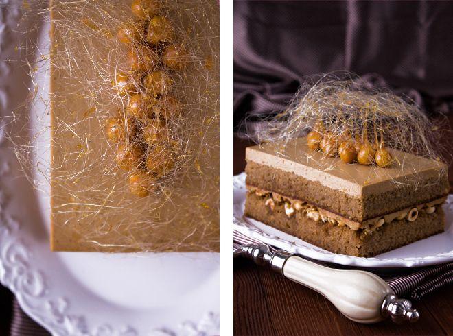 My recipe book - Кофейно-карамельный торт с фундуком