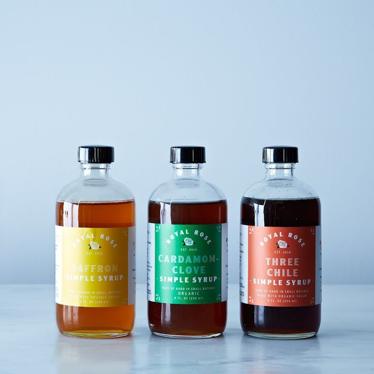 Gifts for the Cocktail Connoisseur, Spiced Royal Rose Syrup Fall Collection. This and more!