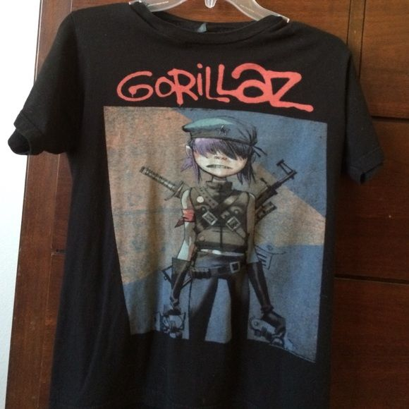 Gorillaz band t shirt from hot topic brand new t shirt from hot topic. clean and never worn Hot Topic Tops Tees - Short Sleeve